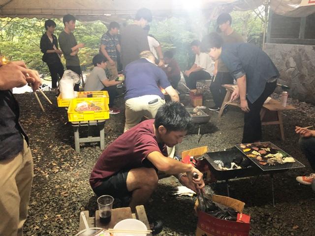 BBQ in松江市宍道ふるさと森林公園